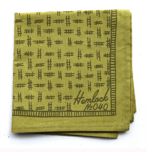 HEMLOCK GOODS BANDANA - Hunter