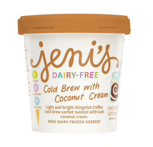 JENI'S COLD BREW WITH COCONUT CREAM PINT - Dairy/GLUTEN Free
