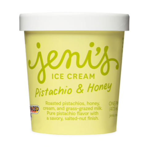 JENI'S PISTACHIO & HONEY PINT - GF