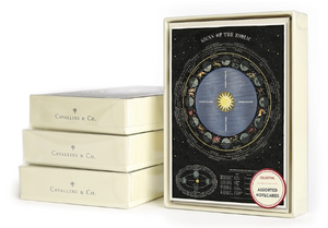 Celestial Boxed Note Cards
