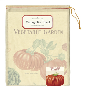 Vegetable Garden Tea Towel