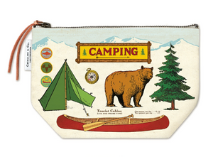 Camping Vintage Pouch
