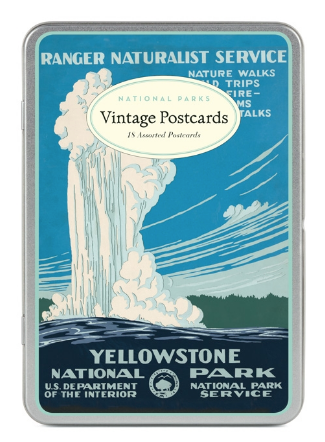National Parks Postcards