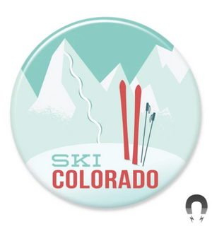 Ski Colorado Magnet