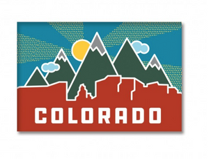 Colorado Skyline Magnet