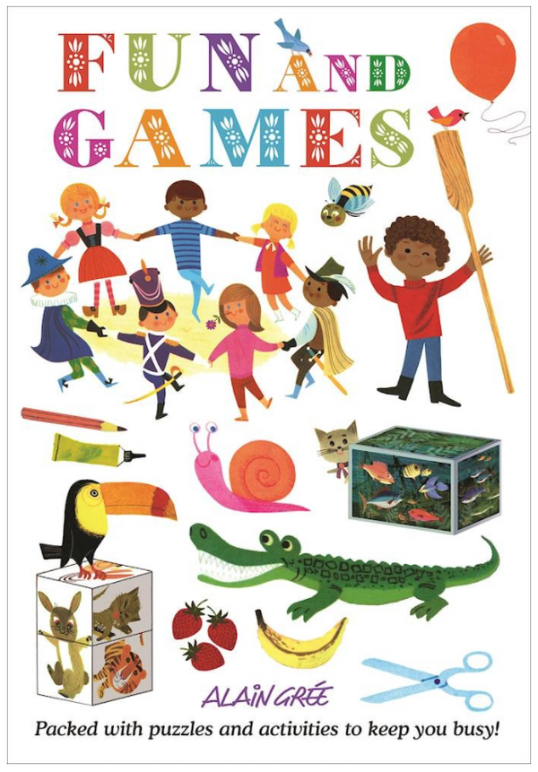 Fun and Games (Alain Grée Activity Book)