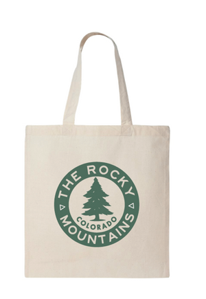 ROCKY MOUNTAINS CAMP BADGE TOTE by Acme Local
