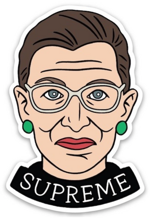 RBG Supreme Sticker - The Found