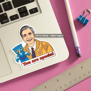 Mister Rogers Sticker - The Found