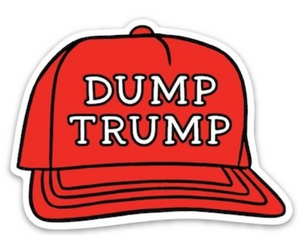 Dump Trump Sticker - The Found