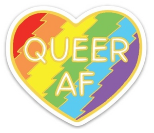 Queer AF Sticker - The Found