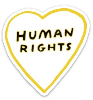 Human Rights Sticker - The Found