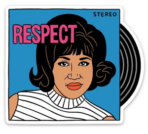 Aretha Respect Sticker - The Found