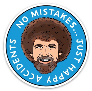 No Mistakes Sticker - The Found