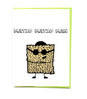 Matzo Man Card by Siyo Boutique