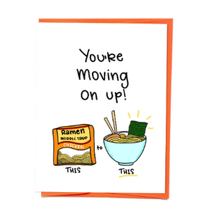 Moving Up Ramen Card by Siyo Boutique