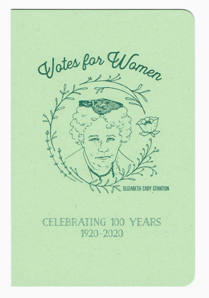 Elizabeth Cady Stanton notebook by Blackbird Letterpress