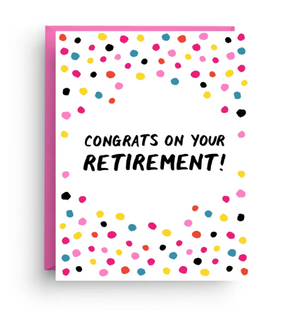 Retirement Congrats Card by Nicole Marie Paperie