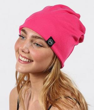 Pink Beanie/Mask by Pretty Simple