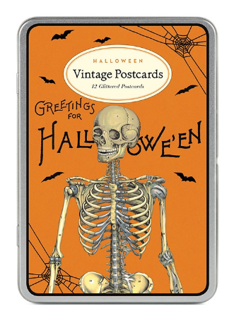 Halloween Orange & Black Postcards