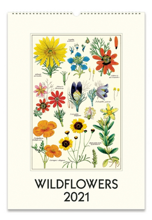 Wildflowers Wall Calendar