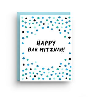 Bar Mitzvah Card by Nicole Marie Paperie