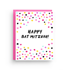 Bat Mitzvah Card by Nicole Marie Paperie