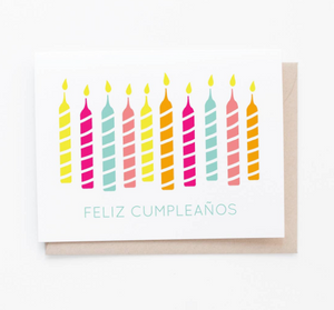 Feliz Cumpleaños card by Graphic Anthology