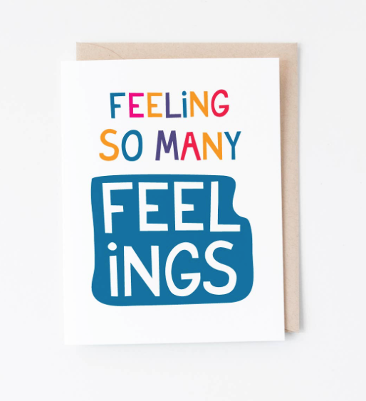 Feelings card by Graphic Anthology