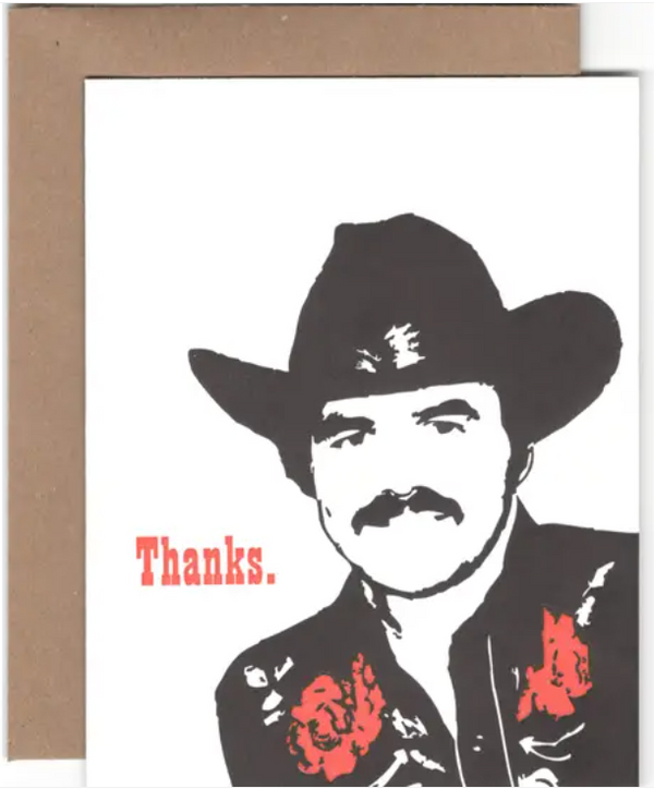 Burt Thanks Card by Power & Light Press