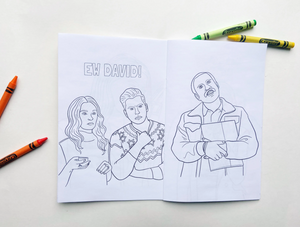 Schitt's Creek Colouring Book by Party Mountain Paper