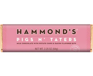 Pigs N' Taters Milk Chocolate Candy Bar by Hammonds Candies