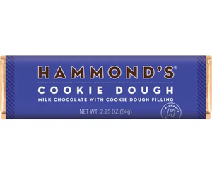 Cookie Dough Milk Chocolate Candy Bar by Hammonds Candies