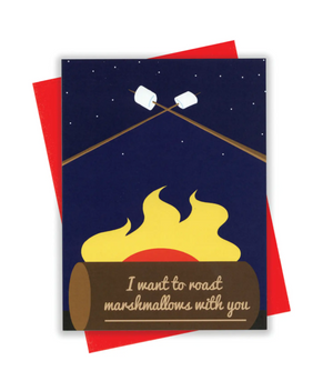 Marshmallows Card by xou