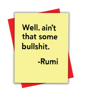 Rumi Card by xou