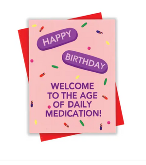 HBD Meds Card by xou