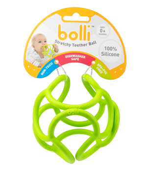Green Teether Ball by OgoBolli