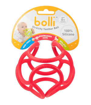 Red Teether Ball by OgoBolli