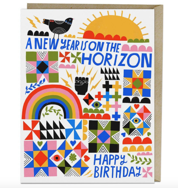 Year Card by Lisa Congdon for Emily McDowell & Friends