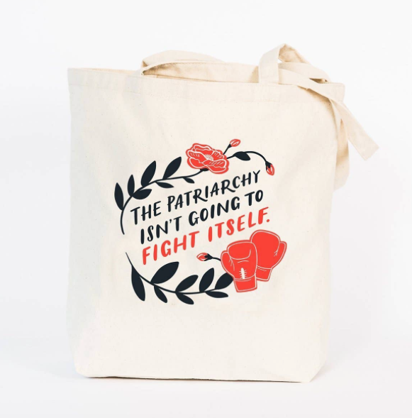 Patriarchy Tote Bag by Emily McDowell & Friends