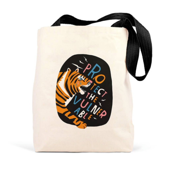 Lisa Congdon Protect the Vulnerable Tote by Emily McDowell & Friends