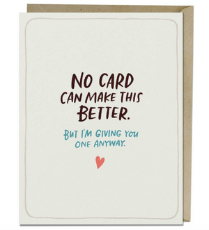 Make This Better Empathy Card by Emily McDowell & Friends
