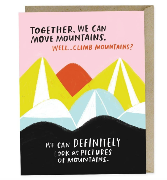 Move Mountains Love Card by Emily McDowell & Friends