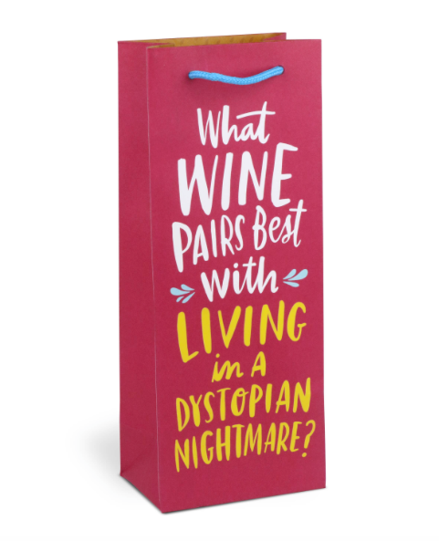 Dystopian Nightmare Wine Bag by Emily McDowell & Friends