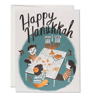 Family Hanukkah Card by Red Cap Cards
