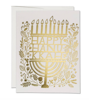 Hanukkah Candles Card by Red Cap Cards