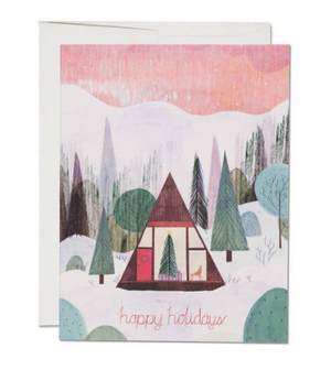 Modern Cabin Card by Red Cap Cards