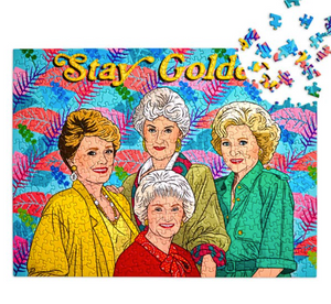 Stay Golden Puzzle by The Found