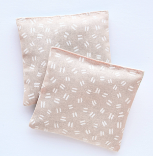 Lavender Sachets in Double Dash - Set of 2 by Minor Thread
