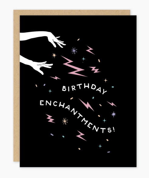 Birthday Enchantments Card by Party of One